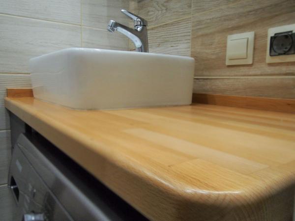 2019.01.28 Мебель для ванной с натуральным деревом